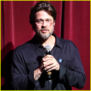 Brad Pitt Steps Out With Bruised Face at Autism Speaks Event