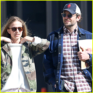 Bradley Cooper & Close Female Friend Hang Out in NYC