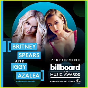 Britney Spears & Iggy Azalea Are Performing Together at Billboard Music Awards 2015!
