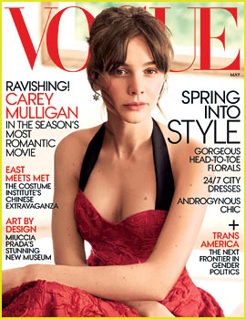 Carey Mulligan Talks Marriage to Marcus Mumford in 'Vogue'