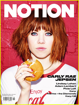 Carly Rae Jepsen Talks New Album 'Emotion' in 'Notion' Mag!