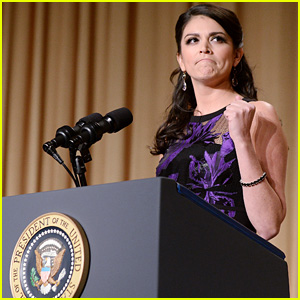 Cecily Strong Tackles Hillary Clinton, Women's Rights, & More in Funny Speech at WHCD 2015 (Video)