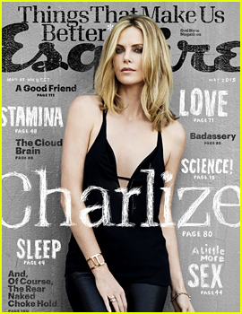 Charlize Theron Talks Marriage & Sean Penn: 'He's Hot!'