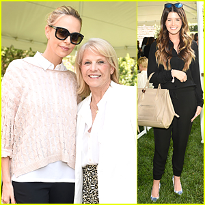 Charlize Theron & Katherine Schwarzenegger Support Astrid Heger at Heart Brunch