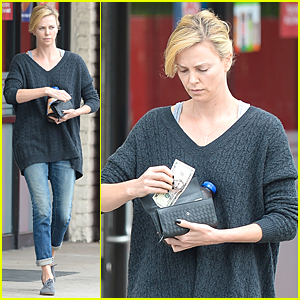 Charlize Theron Shows Compassion & Kindness By Sparing Some Change