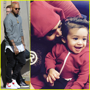 Chris Brown Shares First Photos of His Daughter Royalty
