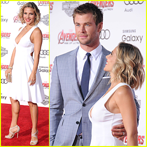 Chris Hemsworth Gets Loving Look From Elsa Pataky at 'Avengers: Age of Ultron' Premiere!