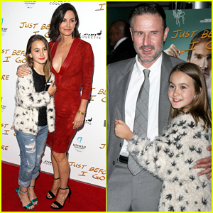 Courteney Cox Brings Daughter Coco to 'Just Before I Go' Premiere with Ex David Arquette!