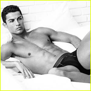 Cristiano Ronaldo Is Shirtless & Sexy In His Underwear for New CR7 Campaign!
