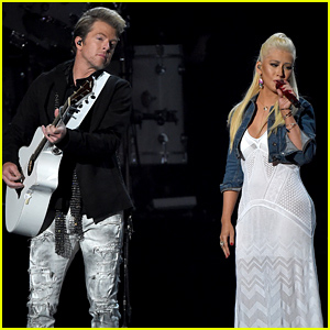 Christina Aguilera's ACM Awards 2015 Performance Video with Rascal Flatts - Watch Now!