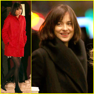 Dakota Johnson Pulls a Late Night for 'How to Be Single'