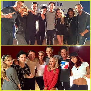 'Dancing with the Stars' Does Group Dances - Watch Team YOLO vs. Team Trouble!