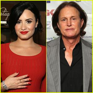 Demi Lovato Dedicates Her Song 'Warrior' to Bruce Jenner (Video)