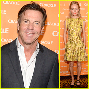 Dennis Quaid Smiles For Cameras After Outburst Video Surfaced
