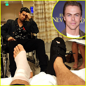 Derek Hough Injured, May Not Perform on 'DWTS'