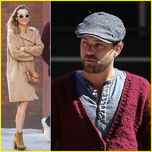 Diane Kruger & Joshua Jackson Keep Close For a Movie Date