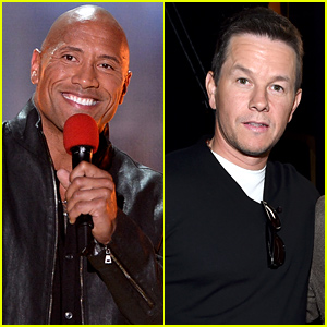 Dwayne 'The Rock' Johnson & Mark Wahlberg Present Awards at MTV Movie Awards 2015