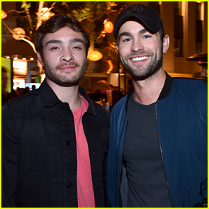 Ed Westwick & Chace Crawford Reunite for City Year L.A.