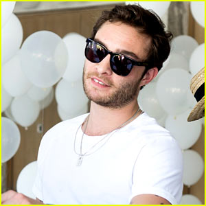 Ed Westwick Launches an Earth Day Campaign!
