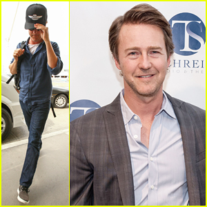 Edward Norton Gets Honored at T. Schreiber Studio's 46th Anniversary Gala!