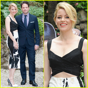 Elizabeth Banks & Hubby Max Handelman Begin 'Pitch Perfect 2' Press In Rome!