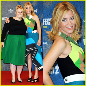Elizabeth Banks & Rebel Wilson Match Up for 'Pitch Perfect 2' in Berlin!