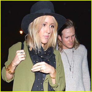 Ellie Goulding Wears Ring On Left Hand After Getting Matching Tattoos With Dougie Poynter