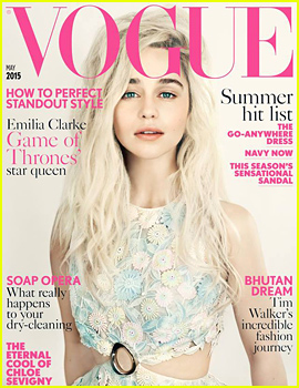 Emilia Clarke Covers 'British Vogue': I Only Want to Do Jobs That Make Me Happy
