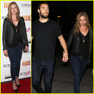 Emily VanCamp & Josh Bowman Couple Up After 'Ride' Hollywood Premeire!