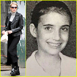 Emma Roberts' 7th Grade Yearbook Pic Looks Beyond Adorable