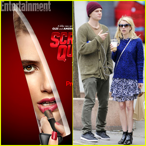 Emma Roberts Takes a Stab in New 'Scream Queens' Poster!
