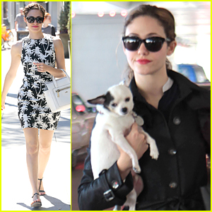 Emmy Rossum Calls Out Autograph Hunters For Buying Refundable Plane Tickets