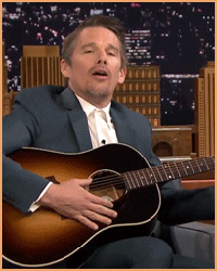 Ethan Hawke Plays Bob Dylan Lullabies With Jimmy Fallon
