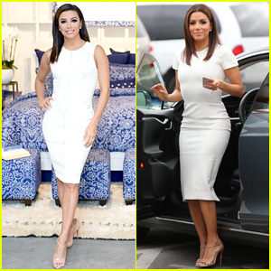 Watch Eva Longoria Get Interviewed By Her Dog Jinxy (Video)