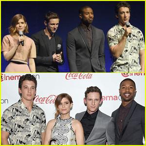 'Fantastic Four' Cast Teams Up for CinemaCon Awards 2015