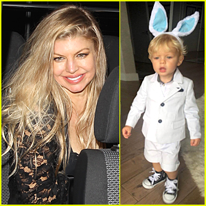 Fergie's Son Axl Looks So Cute Wearing Bunny Ears