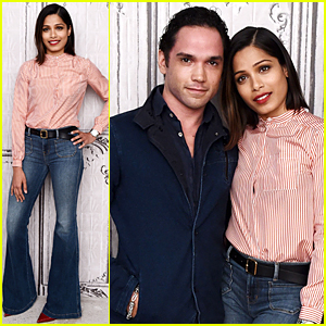 Freida Pinto Opens Up on Ex-Boyfriend Dev Patel
