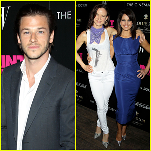 Gaspard Ulliel Gets Support From Juliette Lewis & Carla Gugino at 'Saint Laurent' NYC Screening!