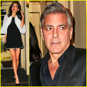 George & Amal Clooney Make it a NYC Date Night