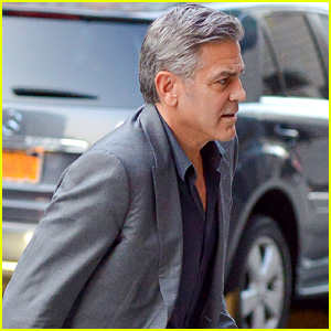 George Clooney Takes 'Money Monster' Break to See Play