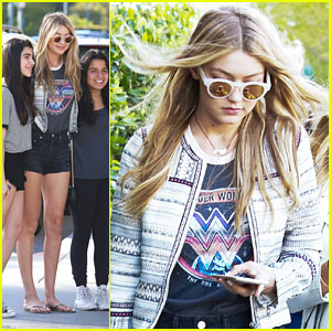 Gigi Hadid Kicks Off Birthday Weekend by Meeting Fans