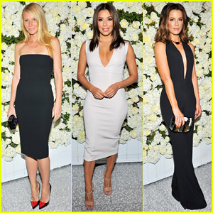 Gwyneth Paltrow, Eva Longoria, Kate Beckinsale & More Celebrate The Victoria Beckham Collection!