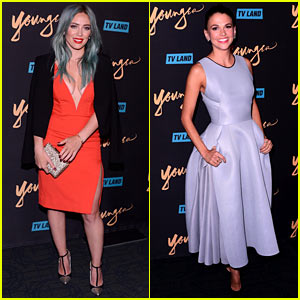 Hilary Duff & Sutton Foster Premiere 'Younger' in New York!
