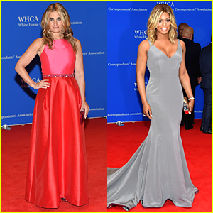 Idina Menzel & Laverne Cox Make Waves at the White House Correspondents' Dinner 2015