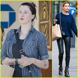 Ireland Baldwin Says Goodbye to Blonde, Hello to Brown Hair!