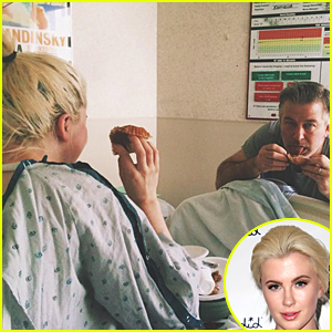 Ireland Baldwin Gives Rehab Update & Shares Pic With Dad Alec