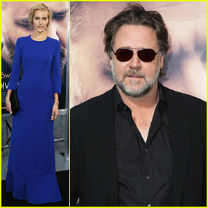 Isabel Lucas Joins Russell Crowe at 'The Water Diviner' Hollywood Premiere!
