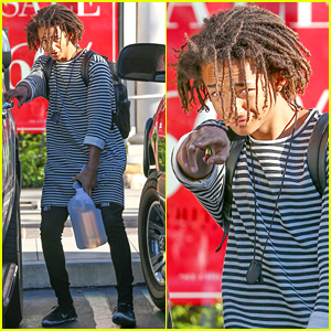 Jaden Smith 'Swerves Way Too Hard' in His Dress