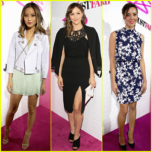 Jamie Chung, Katharine McPhee, & Aubrey Plaza Put On Their Best for JustFab's Launch Party!