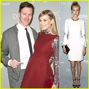 Jaime King's Hubby Kyle Newman Brings Attention to Her Baby Bump at 'Dior & I' Premiere
